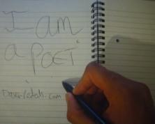 I am a poet